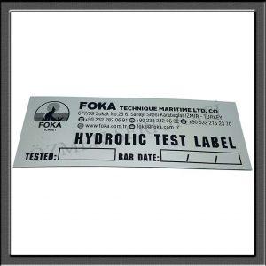 Alüminyum Çıkartma Etiket